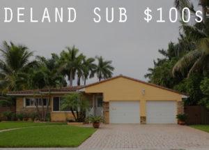 Homes under $100000 in DeLand